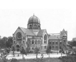 Bornplatzsynagoge 1906